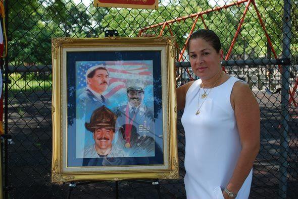 Una de las promotoras de la Esquina Mojica fue su novia, Maria Barretto...