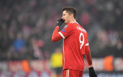 Robert Lewandowski tiene contrato con el Bayern hasta 2021.