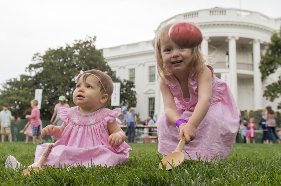 Easter Casa Blanca Trump