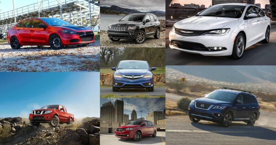 Siete vehículos fueron mencionados por Consumer Reports como los menos s...