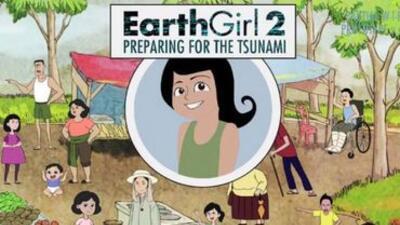 Earth Girl 2 nos ayuda a prepararnos para un tsunami.