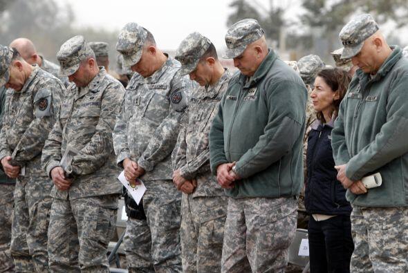 """Explicó además que la retirada de las tropas de combate """"demuestra las a..."""