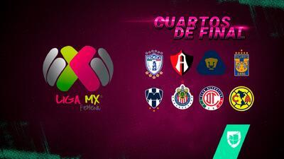 Liga Mx Femenil ya tiene definidos los Cuartos de Final del Apertura 2018