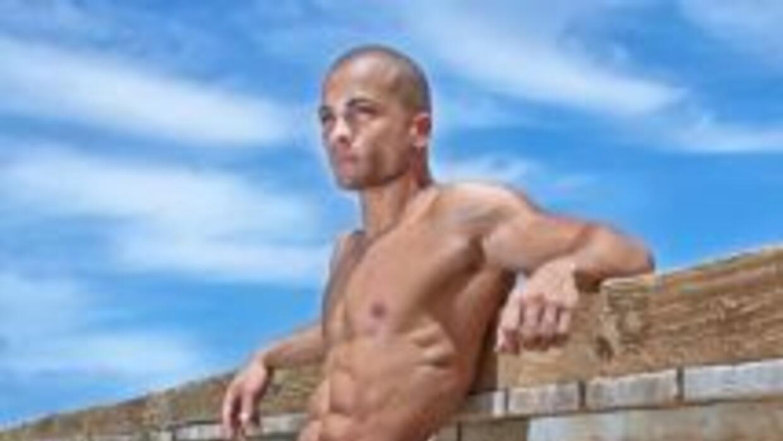 El puertorriqueño José López compite en Men Universe Model 2014, que se...