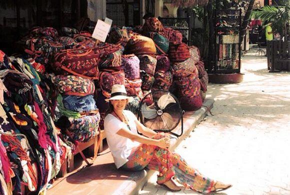 'Colores de México! #mimexico #mitierra', compartió Karla. (Marzo 25, 2015)