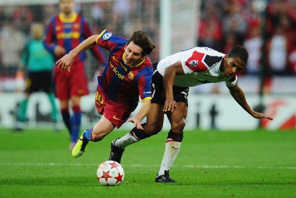 El dominio del Barcelona hizo poner de mal humor a los del Manchester Un...