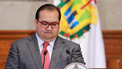 El exgobernador de Veracruz, Javier Duarte.