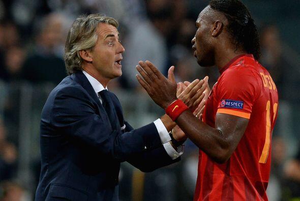 Sin embargo, y pesar a las discusiones entre Mancini y Drogba, los turco...
