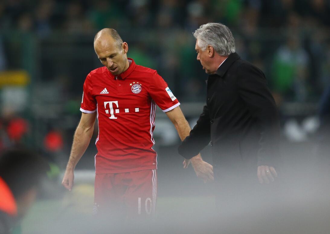 Arjen Robben (Bayern Múnich) - Con 16 años la estrella holandesa debutó...