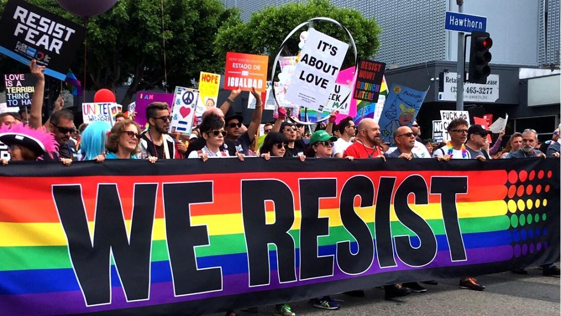 Este 2017 el Desfile por el Orgullo Gay de Los Ángeles fue una marcha de...