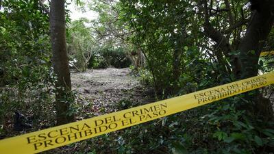 En fotos: Las excavaciones en el cementerio clandestino más grande de México
