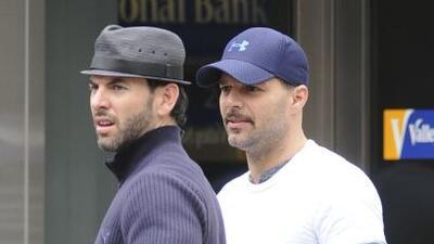 Ricky Martin y Carlos