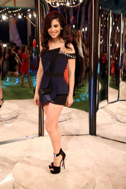 La bella y sensual Jessica Cediel, la nueva reportera de El Gordo y La F...