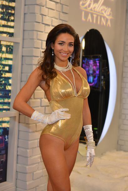 Lisandra Silva de Cuba, audicionó en Miami. Ella es una de bellas que ga...