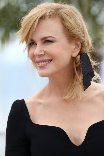 Nicole Kidman nos dejó enamorados con ese 'look' tan coqueto y ro...