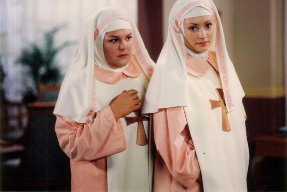 """¿Recuerdan a la hermana Cecilia en """"Carita de ángel? Todo un pan de Dios."""