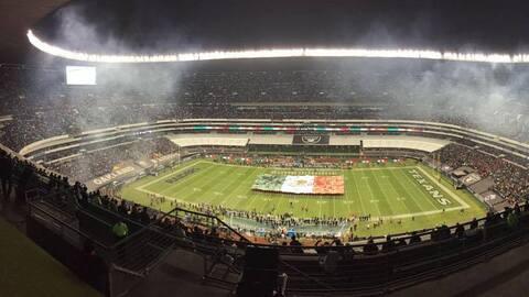 La mayoría de la afición en el Estadio Azteca apoya a los Raiders