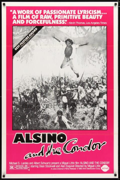 Alsino y el cóndor(1982), NicaraguaDirector: Miguel LittinReparto: Dean...