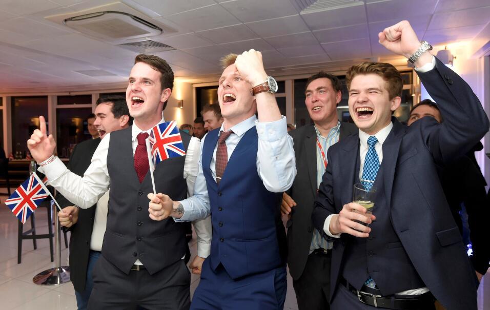 Celkebración Brexit