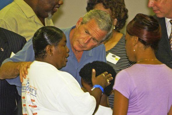 Su respuesta a la tragedia causada por el huracán Katrina en New Orleans...