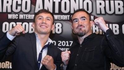 Golovkin y Rubio tienen grandes números en el boxeo.