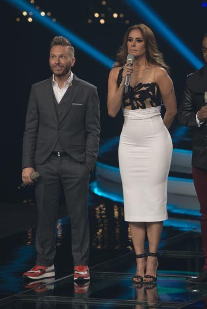 Pero el más exitoso indudablemente fue el 'look' al estilo Jennifer Lopez.