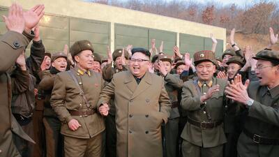 Corea del Norte responde a los mensajes de EEUU con una prueba de un motor para un cohete de alta potencia
