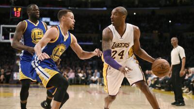 Lakers ganaron a los Warriors en el último juego de Kobe contra GSW.