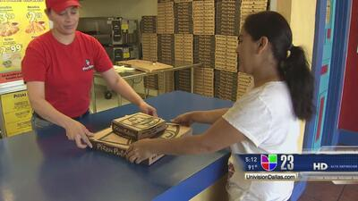 Polémica campaña en pizzeria texana