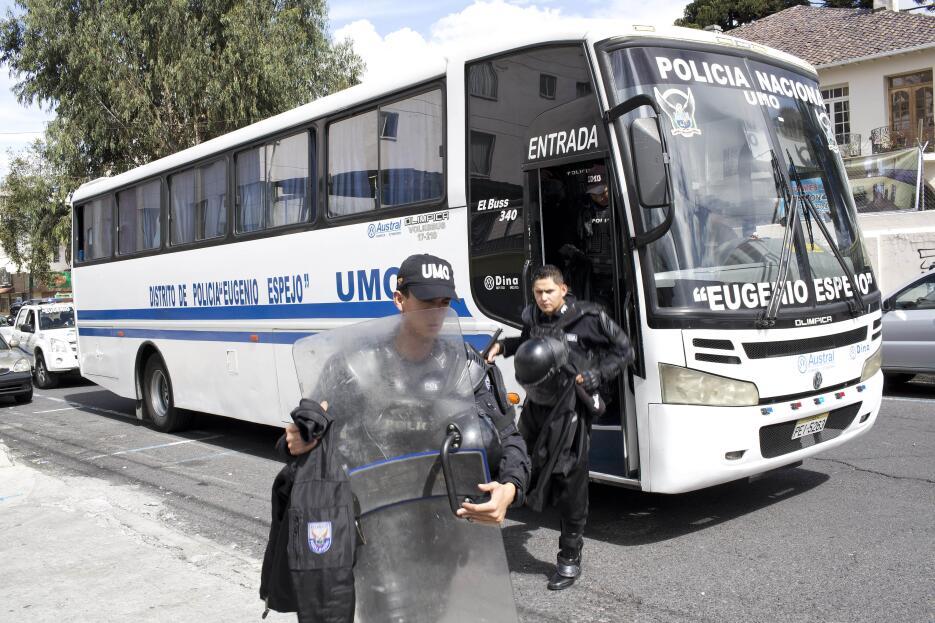 Entre los detenidos había incluso niños, que permanecieron primero en ca...