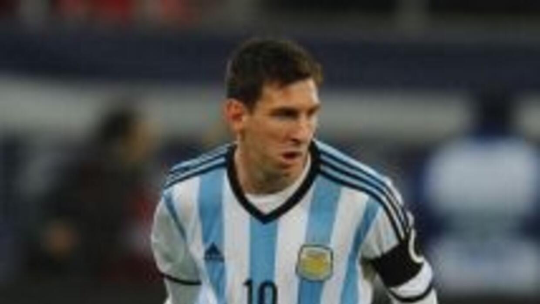 Messi ya piensa en la selección argentina y piensa dejar atrás la mala t...