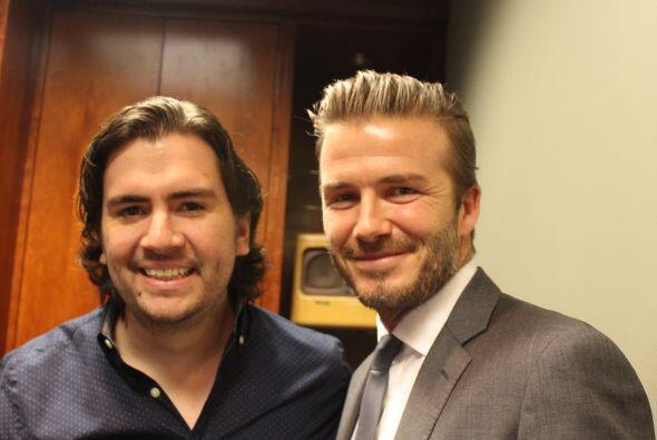 Beckham y Santiago Franco, Content Manager, Amor 107.5FM