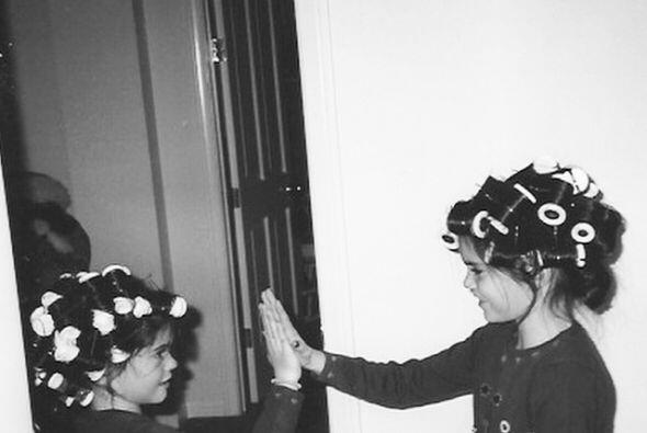 Pero quizá la más emocionada fue su hermana mayor Kendall.
