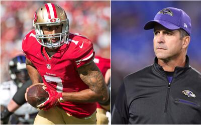 John Harbaugh - Kaepernick