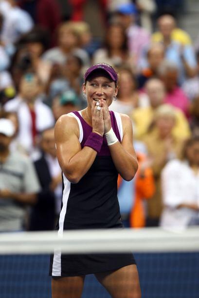 La australiana es la campeona de mayor edad de un US Open desde que la i...