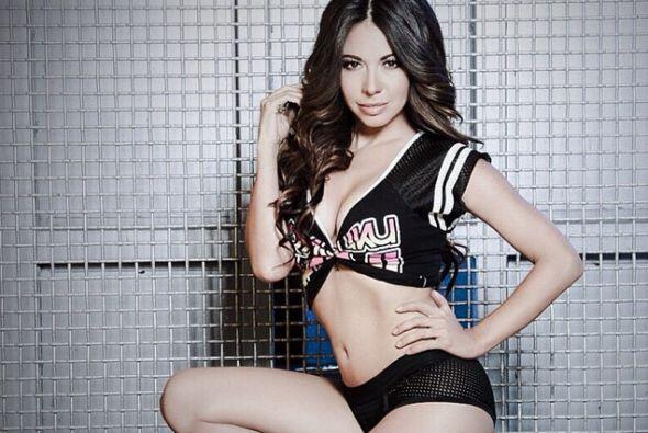 Una guapísima presentadora de deportes mexicana.