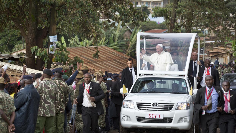 Papa Francisco en Nairobi