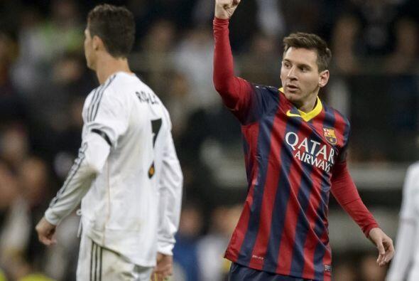 19 goles que Messi le marcaba al Real Madrid, superando a Alfredo Di Sté...