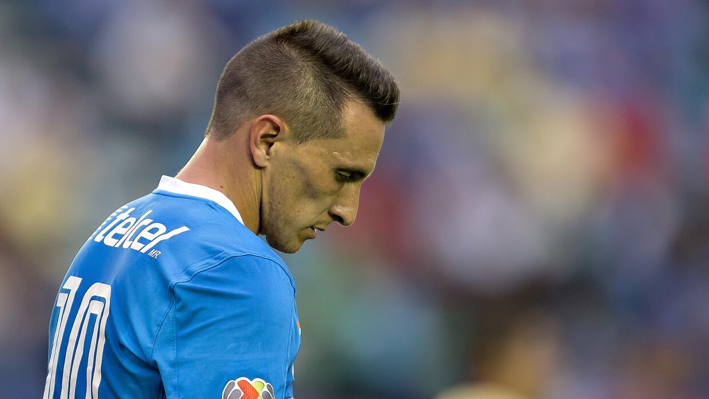 El jugador de Cruz Azul señaló que está desilusionado.