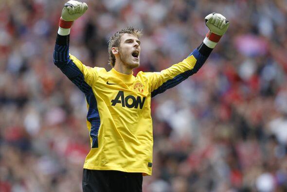 De Gea, en su primera temporada con el Manchester United, demuestra por...