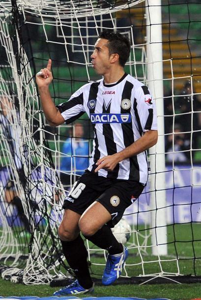 ¡Metí un gol, metí un gol! Decía Giampiero Pinzi a la tribuna.