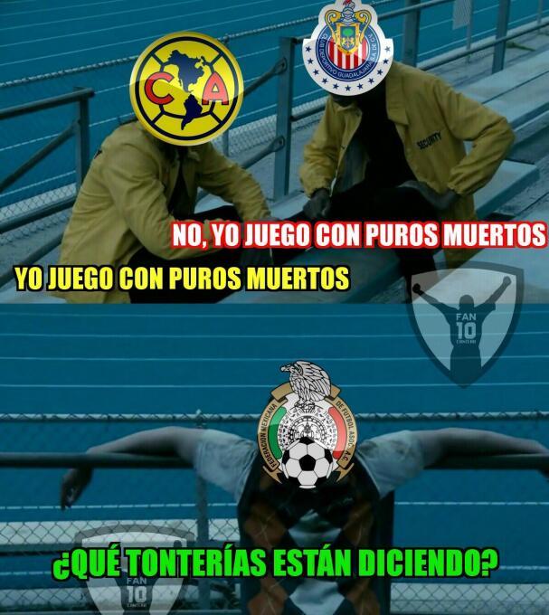 Los memes no perdonaron a Chivas y América por perder sus finales DE6fMc...