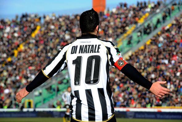 Y más tarde fue el turno de Antonio Di Natale.