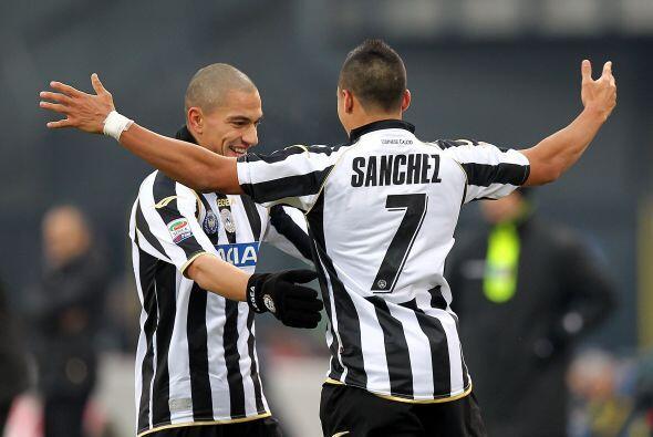 Alexis Sánchez puso en ventaja al Udinese.
