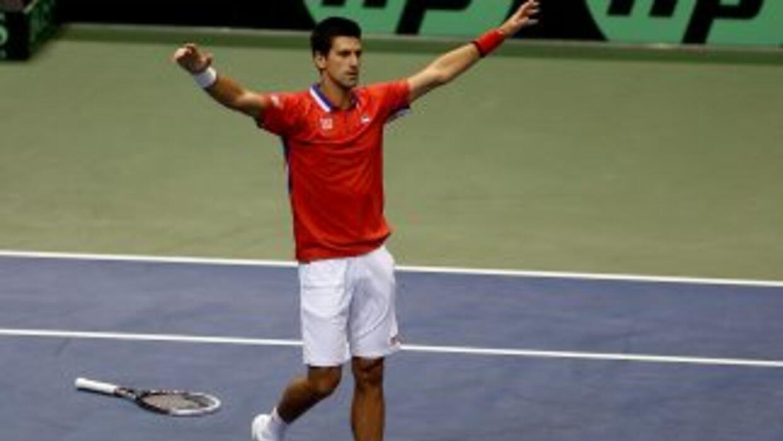 El tenista número uno de la ATP aseguró que espera recuperarse de la les...