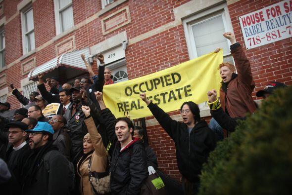 Los diversos desalojos que han vivido miembros del movimiento Ocupemos W...