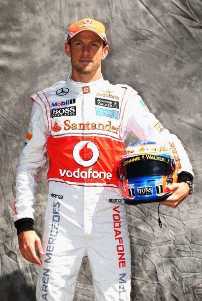 Jenson Button, Gran Bretaña, McLaren-Mercedes.