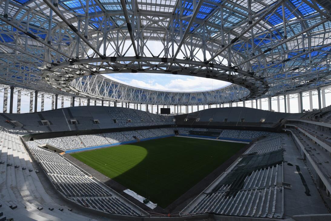 En los próximos días el Estadio Nizhni Nóvgorod (Nizhni Nóvgorod) estará...