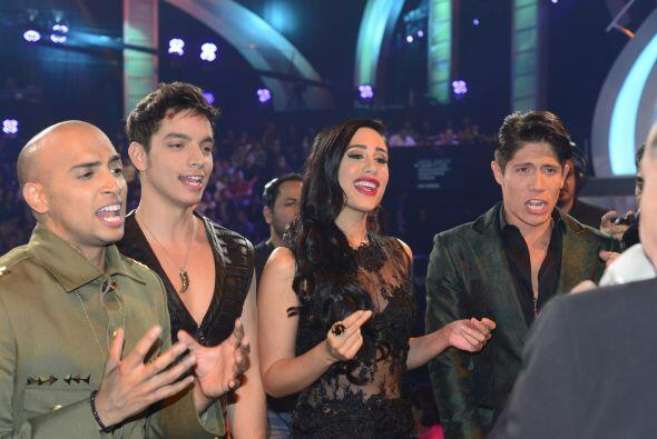 José, José Enrique, Geissie y Fernando.