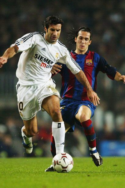 'Lucho' estuvo por espacio de 5 años con el Barcelona, para pasar...
